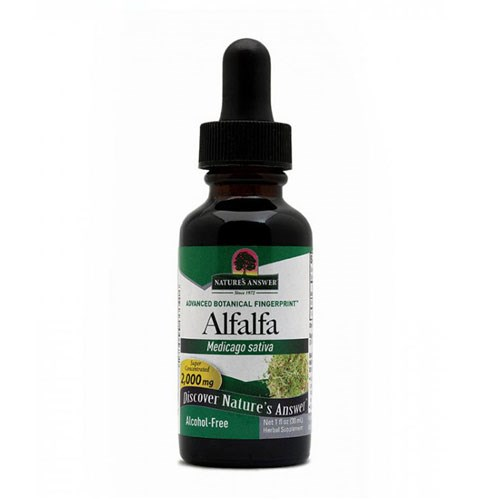 Alfalfa ORGANIC ALCOHOL FREE, 1 OZ by Nature's Answer