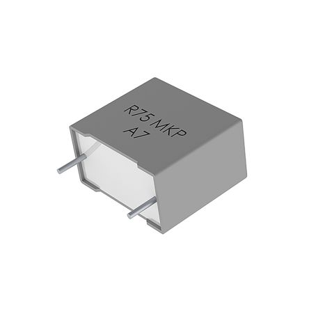 KEMET 4.7nF Polypropylene Capacitor PP 1 kV dc, 400 V ac ±5% Tolerance Through Hole R75 Series (1000)