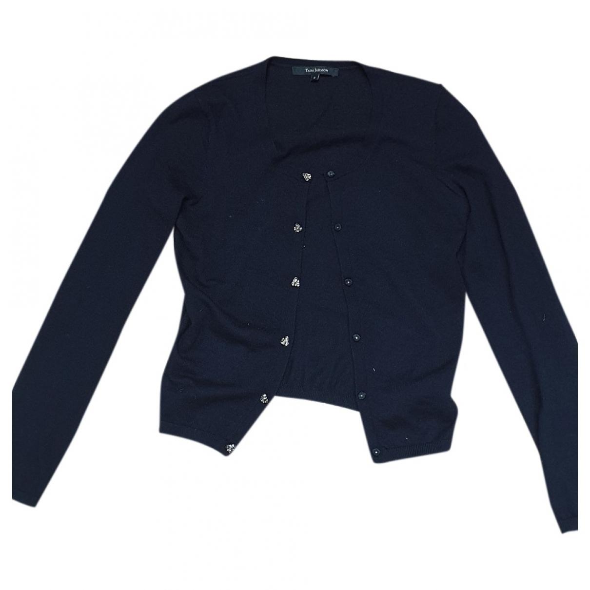 Tara Jarmon \N Navy Cashmere Knitwear for Women 36 FR