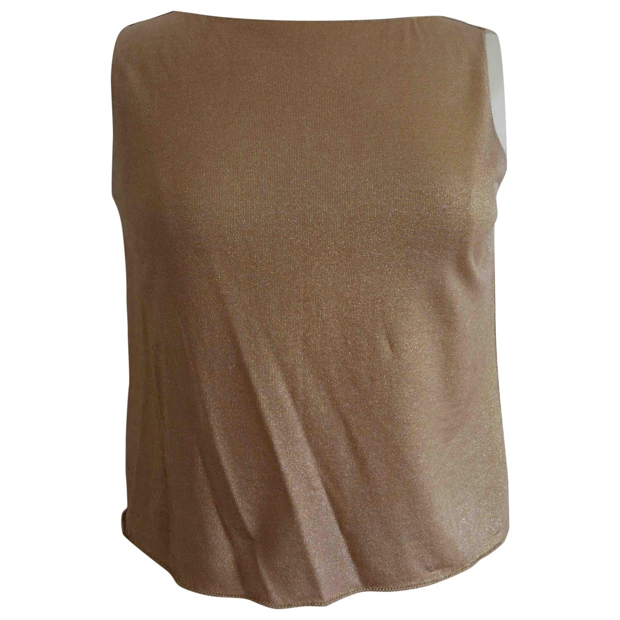 Prada \N Gold  top for Women M International