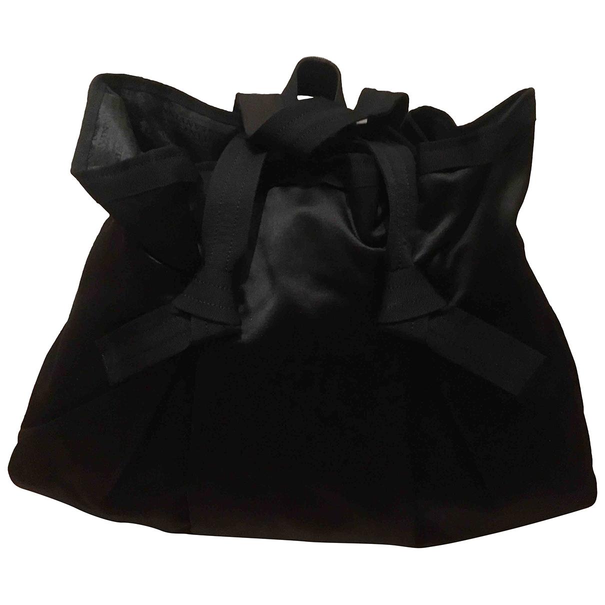 Lanvin \N Black Silk handbag for Women \N