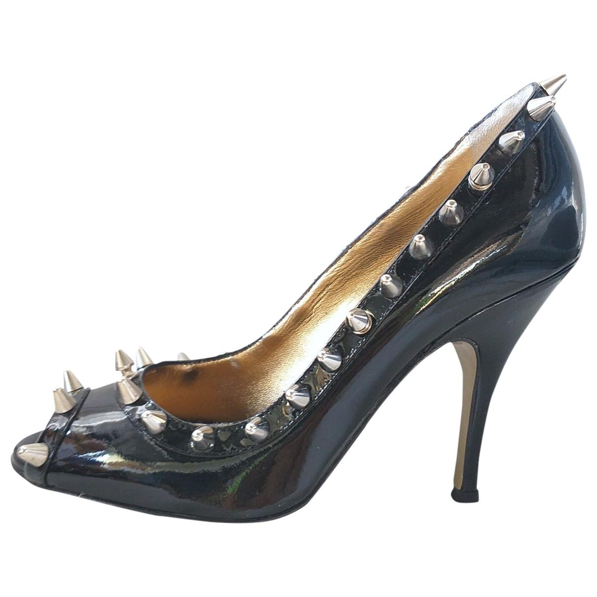 D&g \N Black Patent leather Heels for Women 38 EU