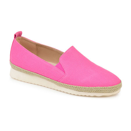 Journee Collection Womens Leela Slip-On Shoe Round Toe, 8 Medium, Pink