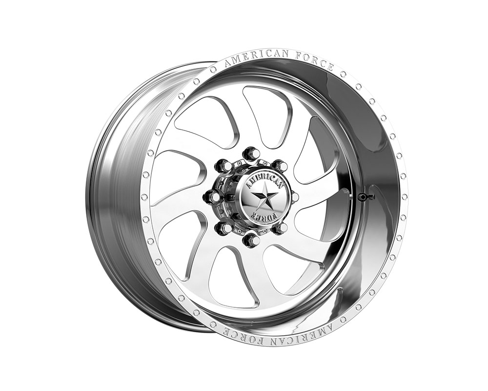 American Force AFTG76RS72-1-21 AFW 76 Blade SS Wheel 22x10 5x5x127 -18mm Polished