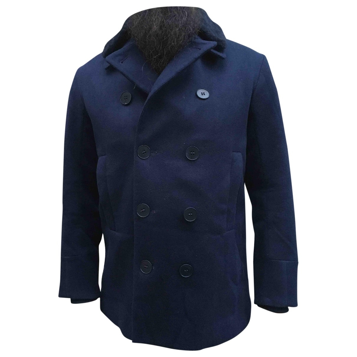 Oamc \N Blue Wool coat  for Men M International