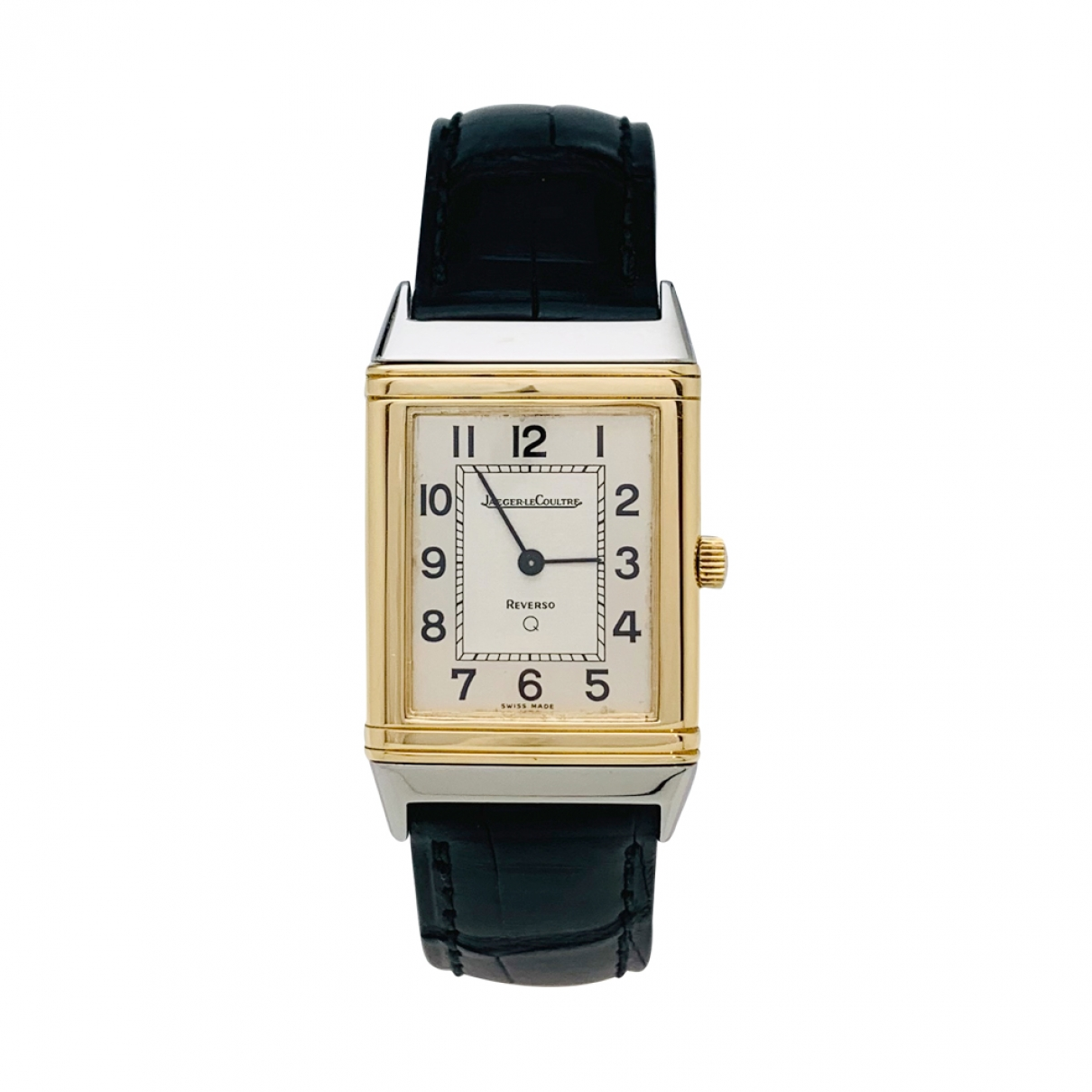Jaeger-lecoultre Reverso gold and steel watch for Women \N