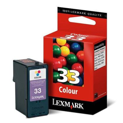 Lexmark 33 18C0033 Original Color Ink Cartridge