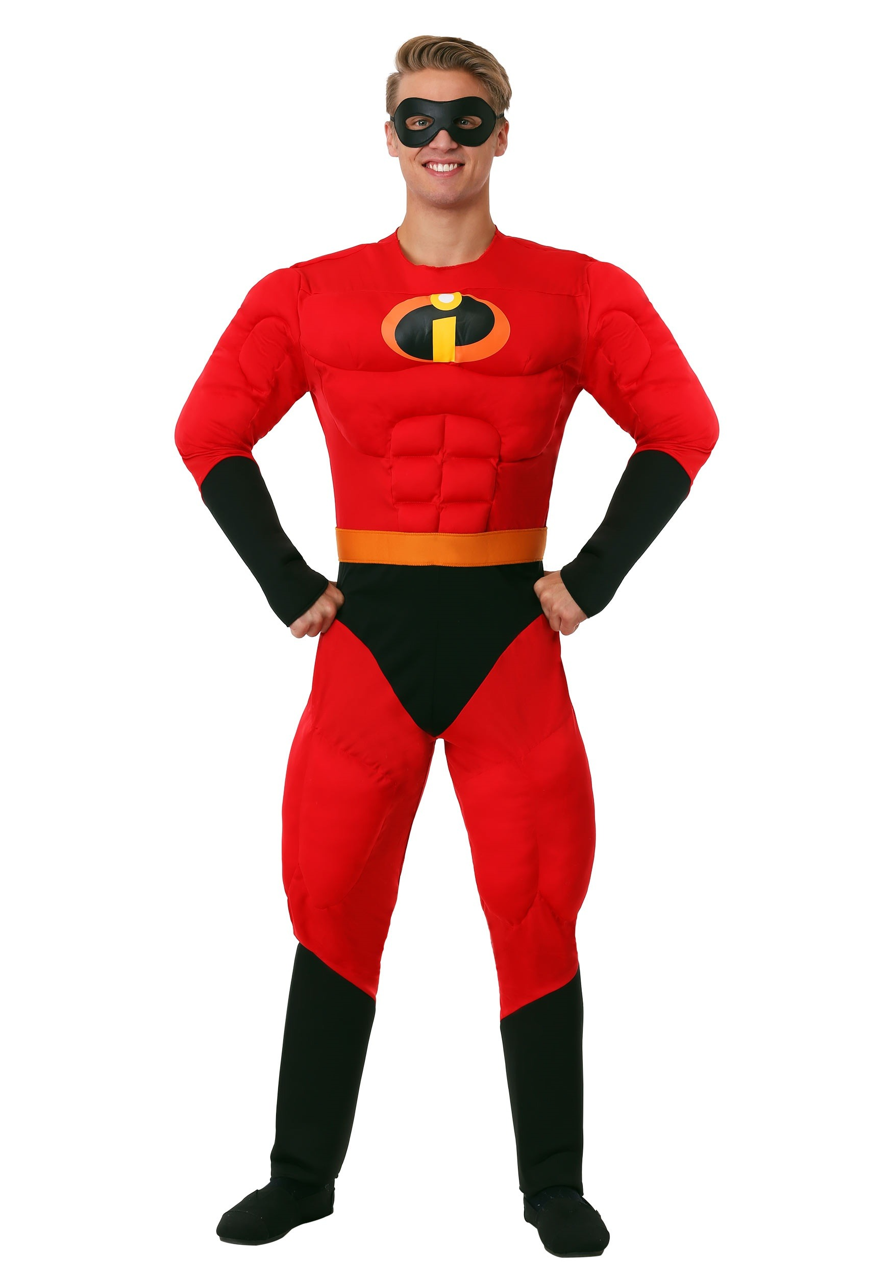 Men's Super Mr. Incredible Costume from The Incredibles