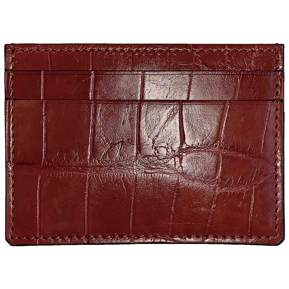 Gucci \N Red Crocodile Purses, wallet & cases for Women \N