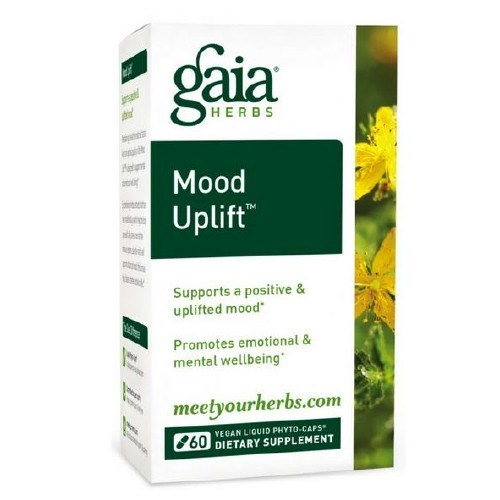 Mood Uplift 60 Caps by Gaia Herbs