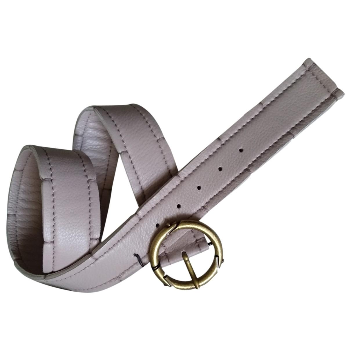 Bottega Veneta \N Pink Leather belt for Women S International