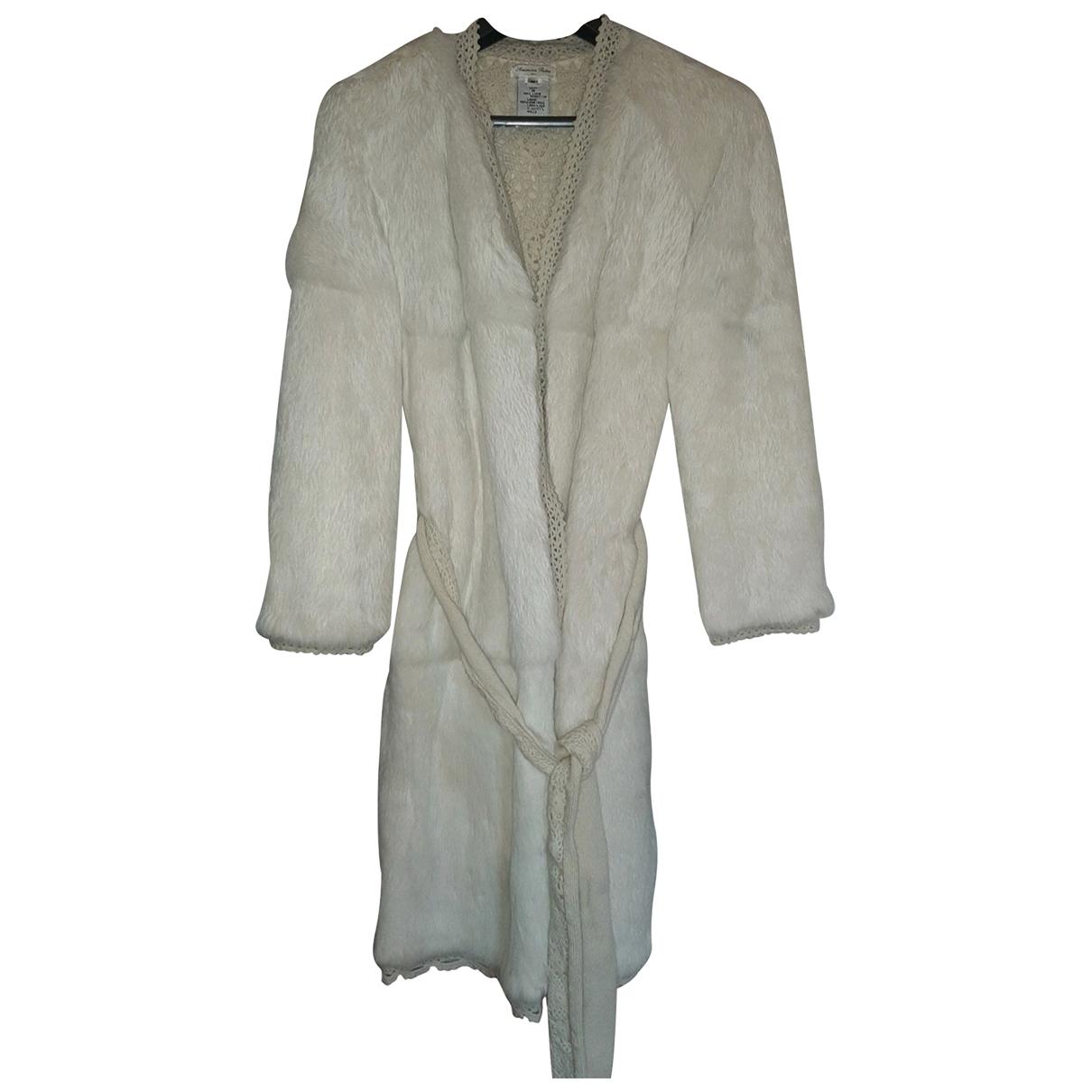 American Vintage \N White Rabbit coat for Women 36 FR