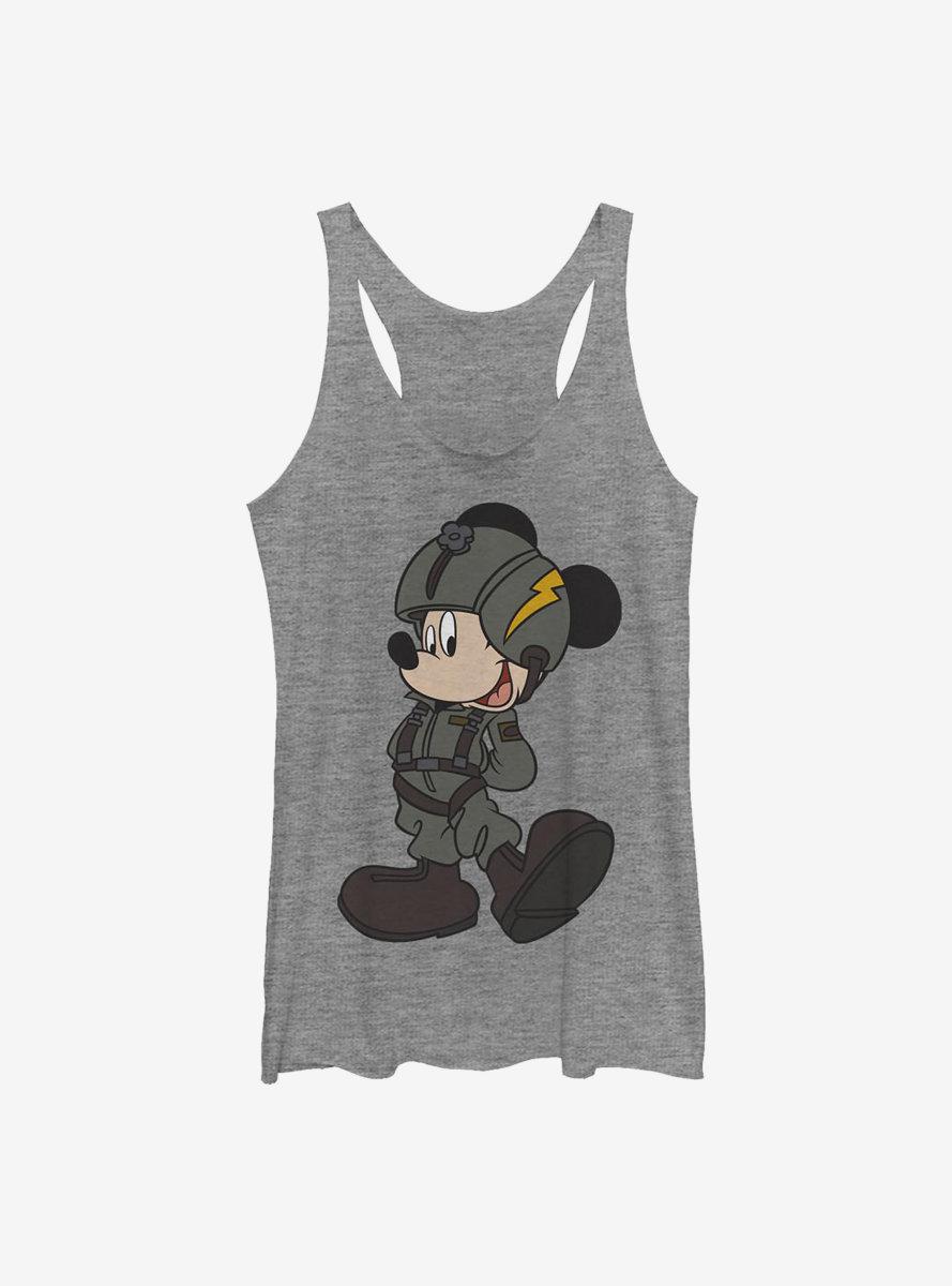 Disney Mickey Mouse Jet Pilot Womens Tank Top