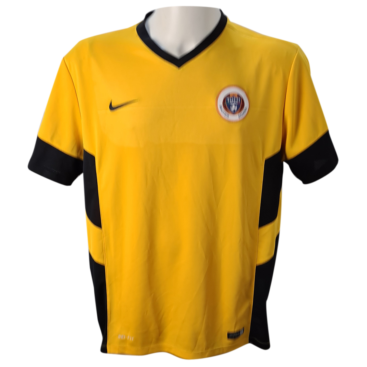 Nike \N T-Shirts in  Gelb Polyester
