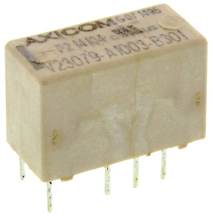 TE Connectivity , 12V dc Coil Non-Latching Relay DPDT, 5A Switching Current PCB Mount, 2 Pole (50)