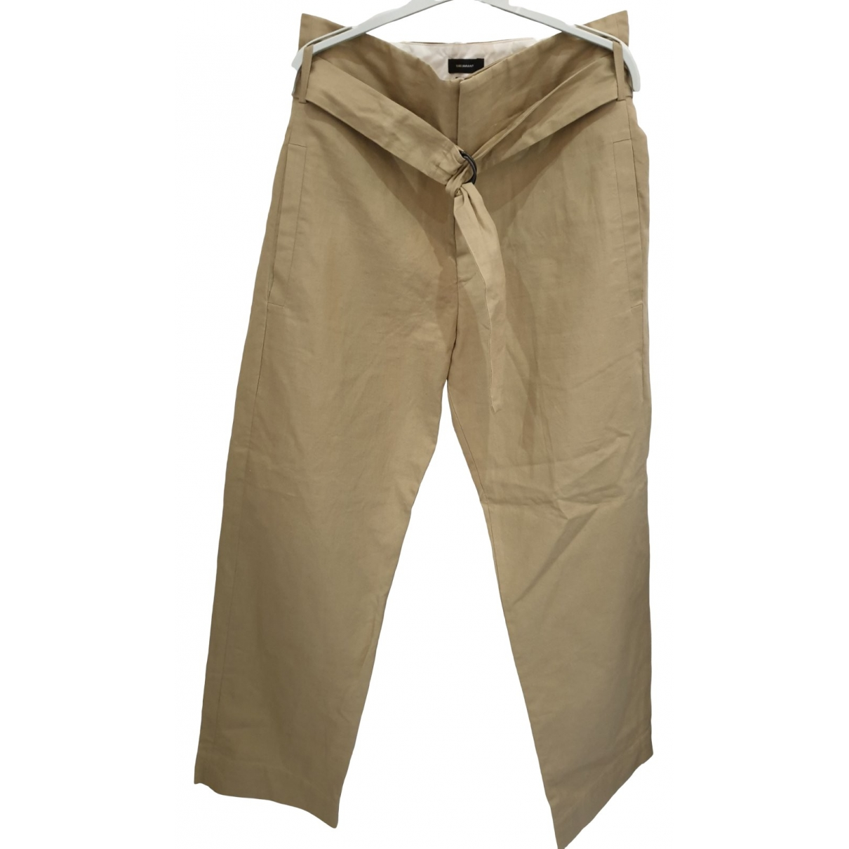 Isabel Marant \N Linen Trousers for Women 38 FR