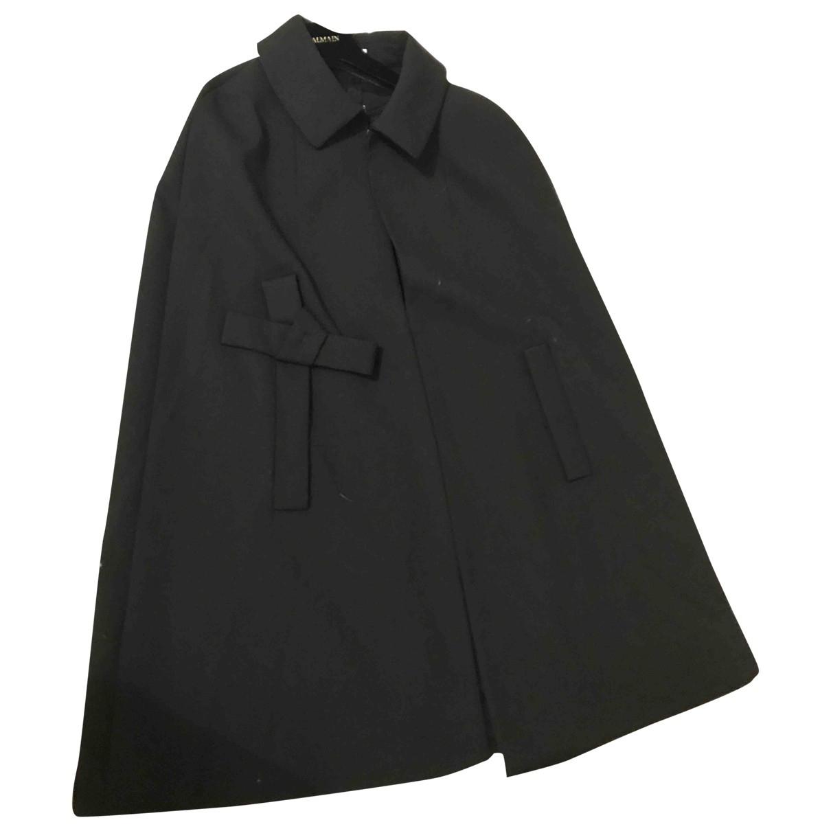 Paule Ka \N Black coat for Women 36 FR