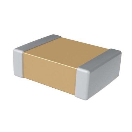 KEMET 1206 (3216M) 10nF Multilayer Ceramic Capacitor MLCC 1.5kV dc ±10% SMD C1206C103KFRACTU (2000)