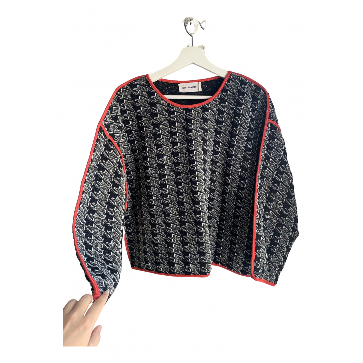 Non Sign?? / Unsigned \N Red Knitwear for Women One Size International