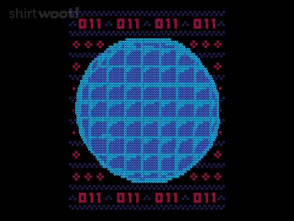 Waffle Knit Sweater T Shirt