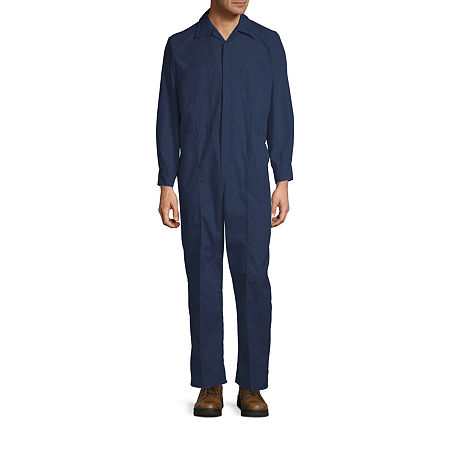 Sweet Company Long Sleeve Workwear Coveralls-Big and Tall Regular Length, 56 , Blue