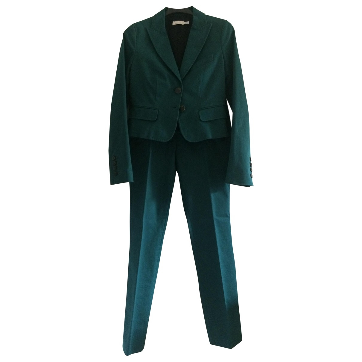 Pinko \N Green Cotton jacket for Women 42 IT