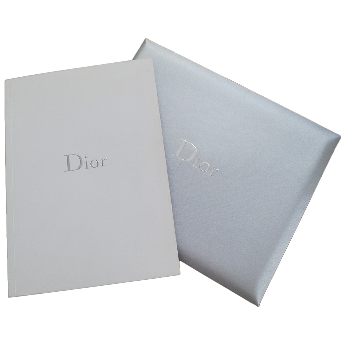 Dior \N Silver Cotton Fashion for Life & Living \N