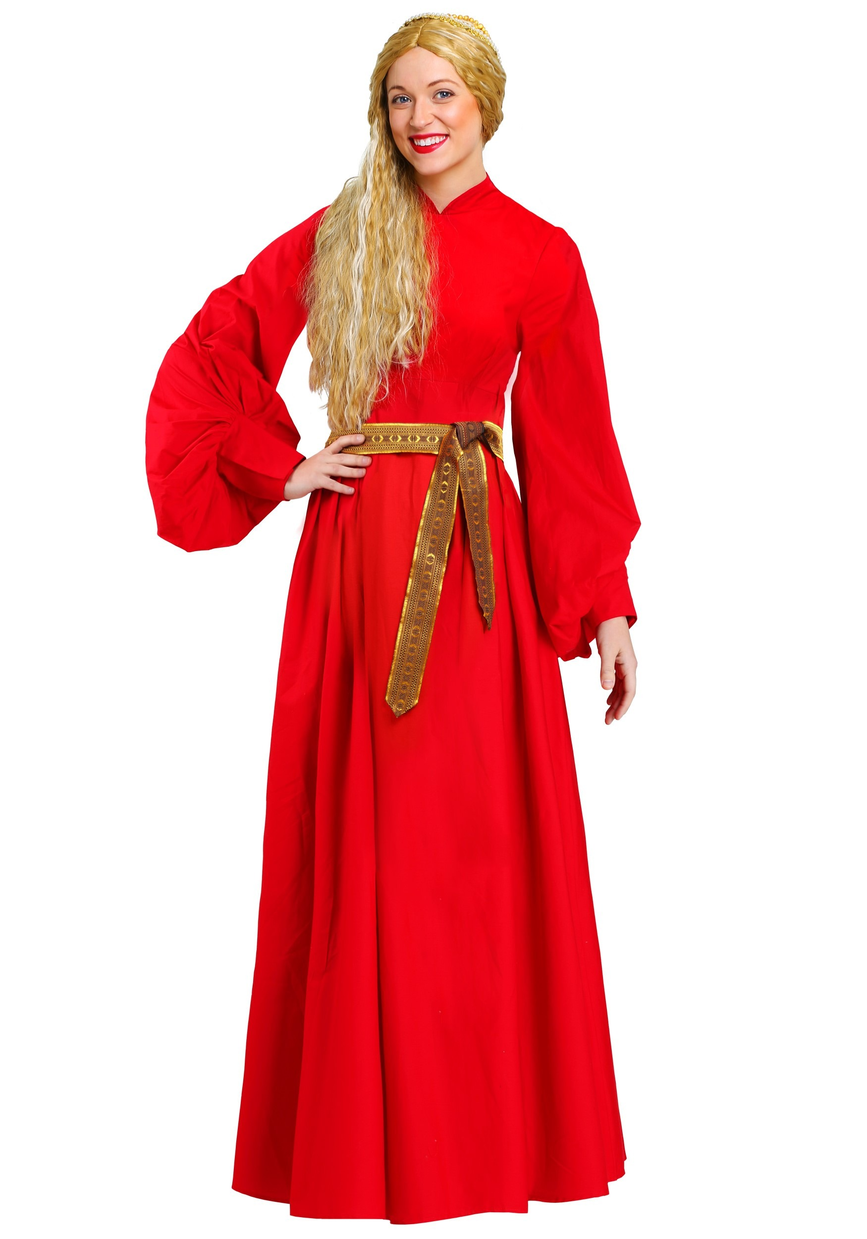Buttercup Peasant Dress Costume in Women's Plus Size