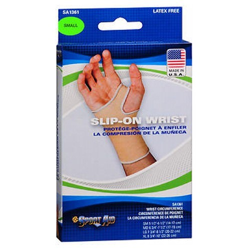 Sport Aid Slip-On Wrist Support Small each by Sport Aid