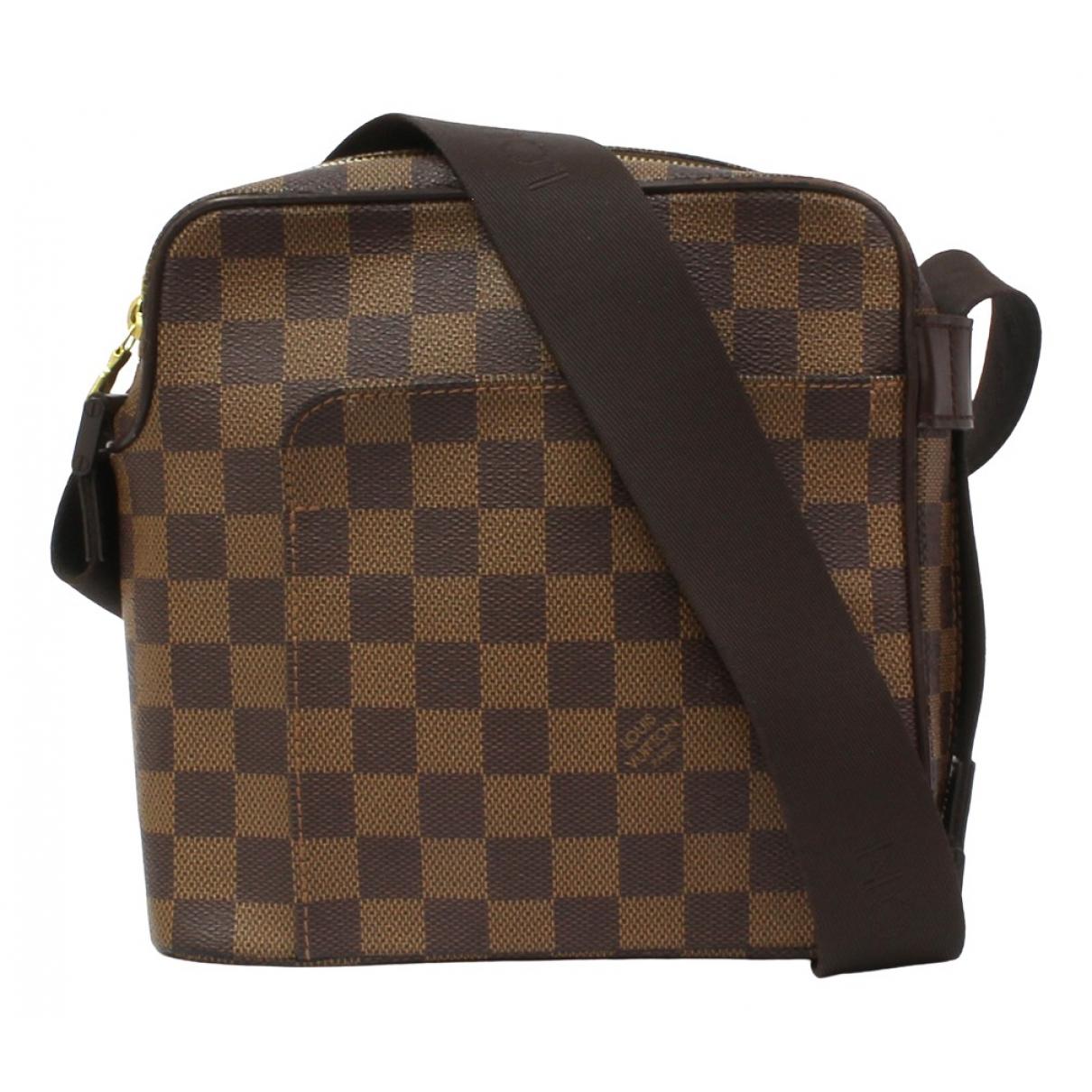 Louis Vuitton Olav  Brown Cloth handbag for Women \N