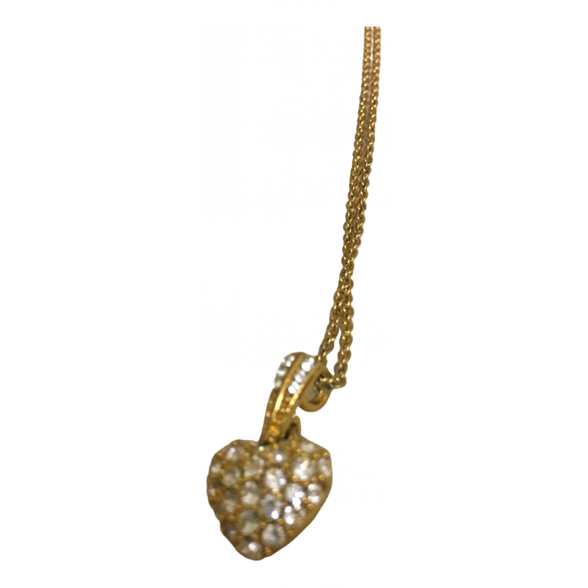 Non Signé / Unsigned \N Gold Metal pendant for Women \N