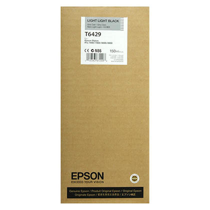 Epson T642900 Original Light Light Black Ink Cartridge