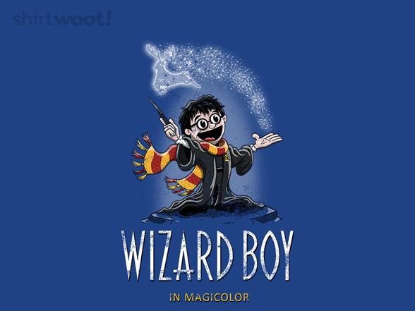 Wizard Boy T Shirt