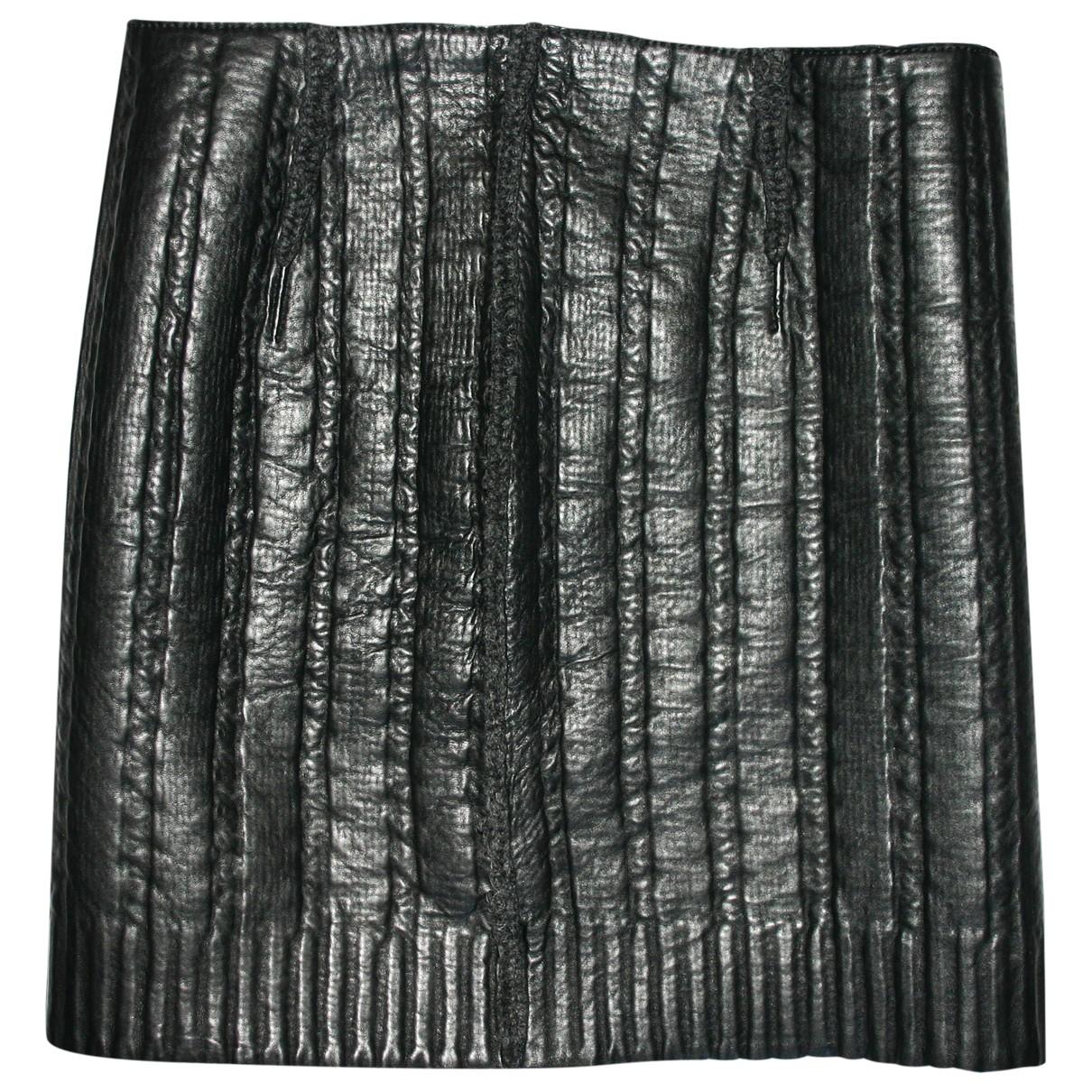 Lanvin \N Black Wool skirt for Women 36 FR