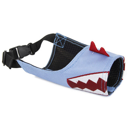 Pet Life Funimation Adjustable Designer Dog Muzzle, One Size , Blue