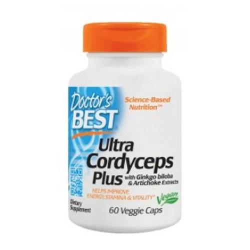 Ultra Cordyceps Plus 60 Veggie Caps by Doctors Best