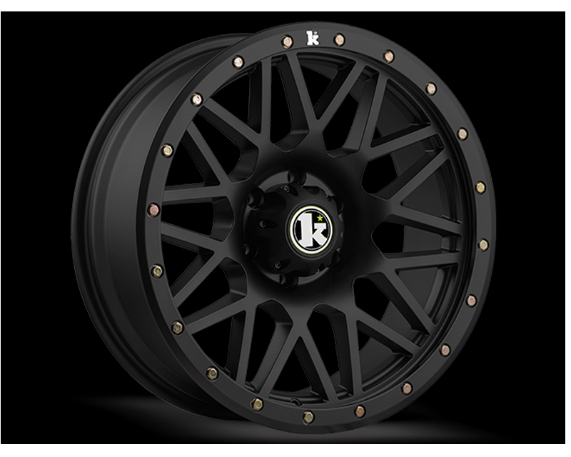 KLUTCH OFFRD Matte Black KT02 Wheel 20x9 6x139.7 0mm