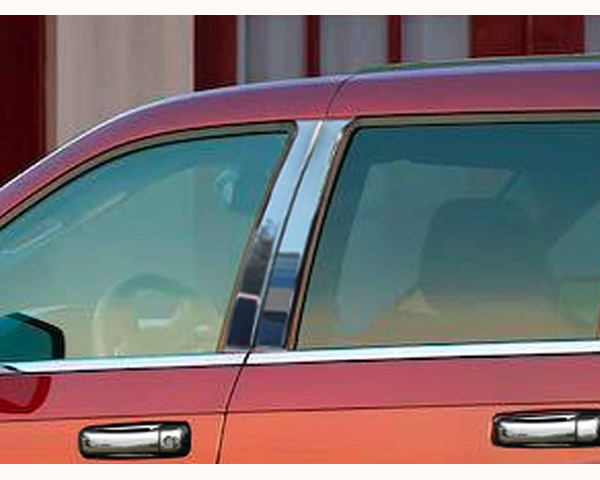 Quality Automotive Accessories 4-Piece Pillar Post Trim Kit Jeep Grand Cherokee 2005