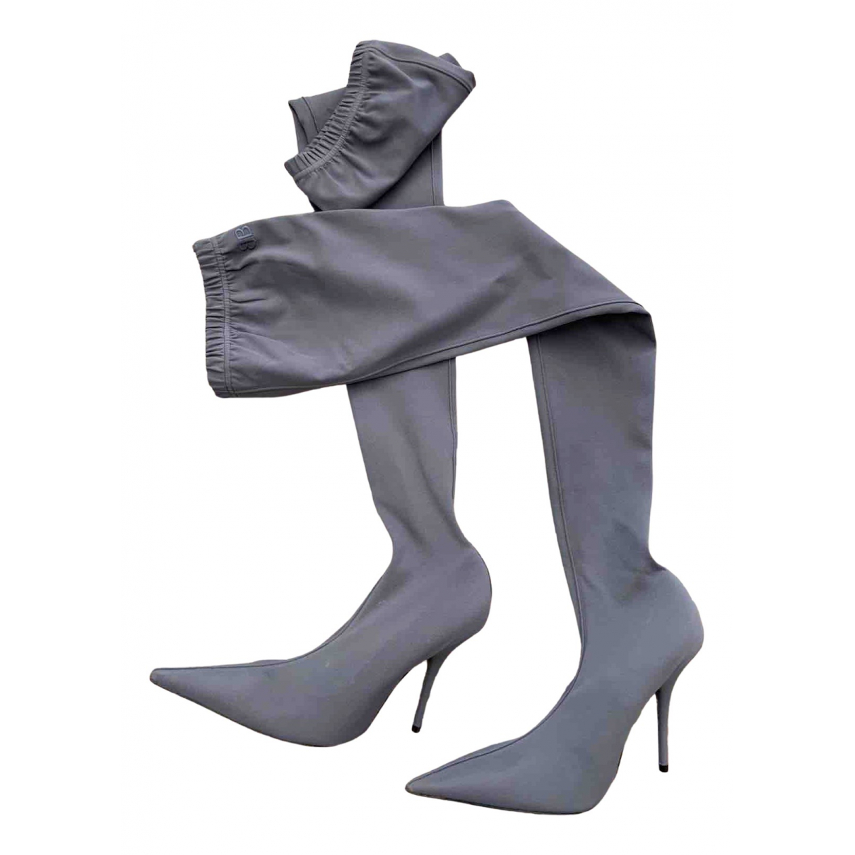 Balenciaga \N Grey Boots for Women 37.5 EU