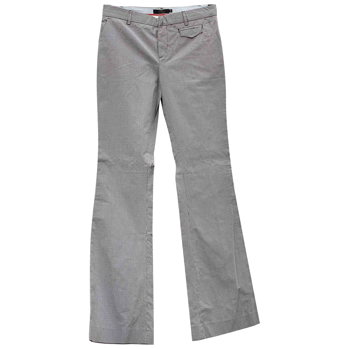 Burberry \N Cotton Trousers for Women 40 IT