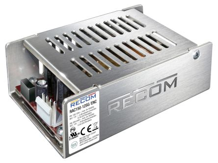 Recom , 150W Embedded Switch Mode Power Supply SMPS, 48V dc, Enclosed