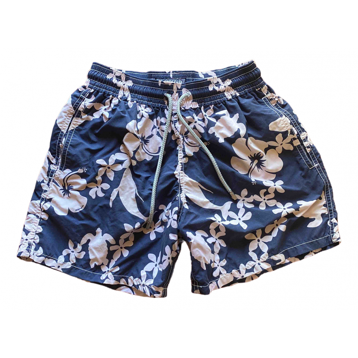 Vilebrequin \N Blue Cotton - elasthane Swimwear for Men S International