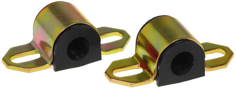 Prothane 19-1106-BL Universal Sway Bar Bushings - 3/4in for A Bracket - Black