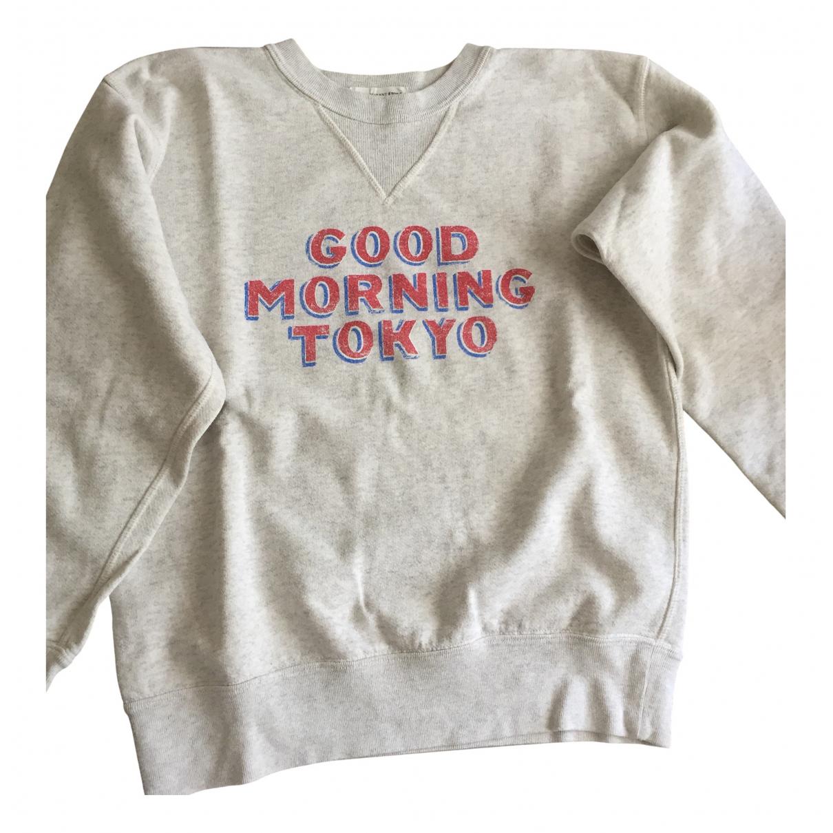 Isabel Marant Etoile \N Grey Cotton Knitwear for Women 38 FR