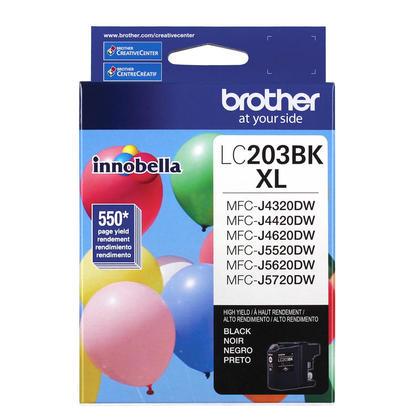 Brother LC203BK XL originale Innobella cartouche encre noire, haut rendement