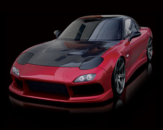 Origin D23-FKT Stylish Full Body Kit Mazda RX7 93-95