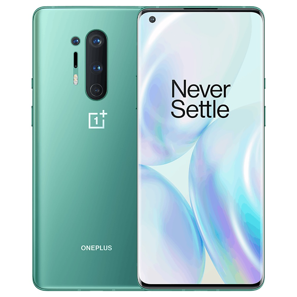 Global ROM OnePlus 8 Pro 5G Smartphone 12GB 256GB Glacial Green