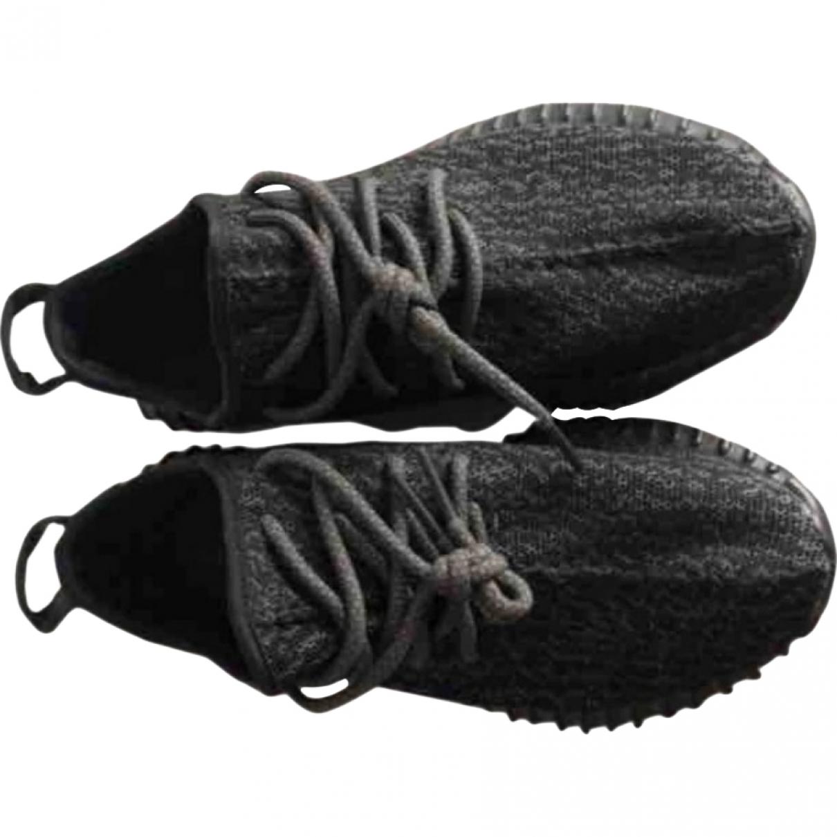 Yeezy X Adidas \N Black Cloth Trainers for Men 39.5 EU