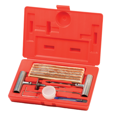 Group 31 Xtra Seal 12-357 - Commercial Tire Repair Kit W/ 8 String ...
