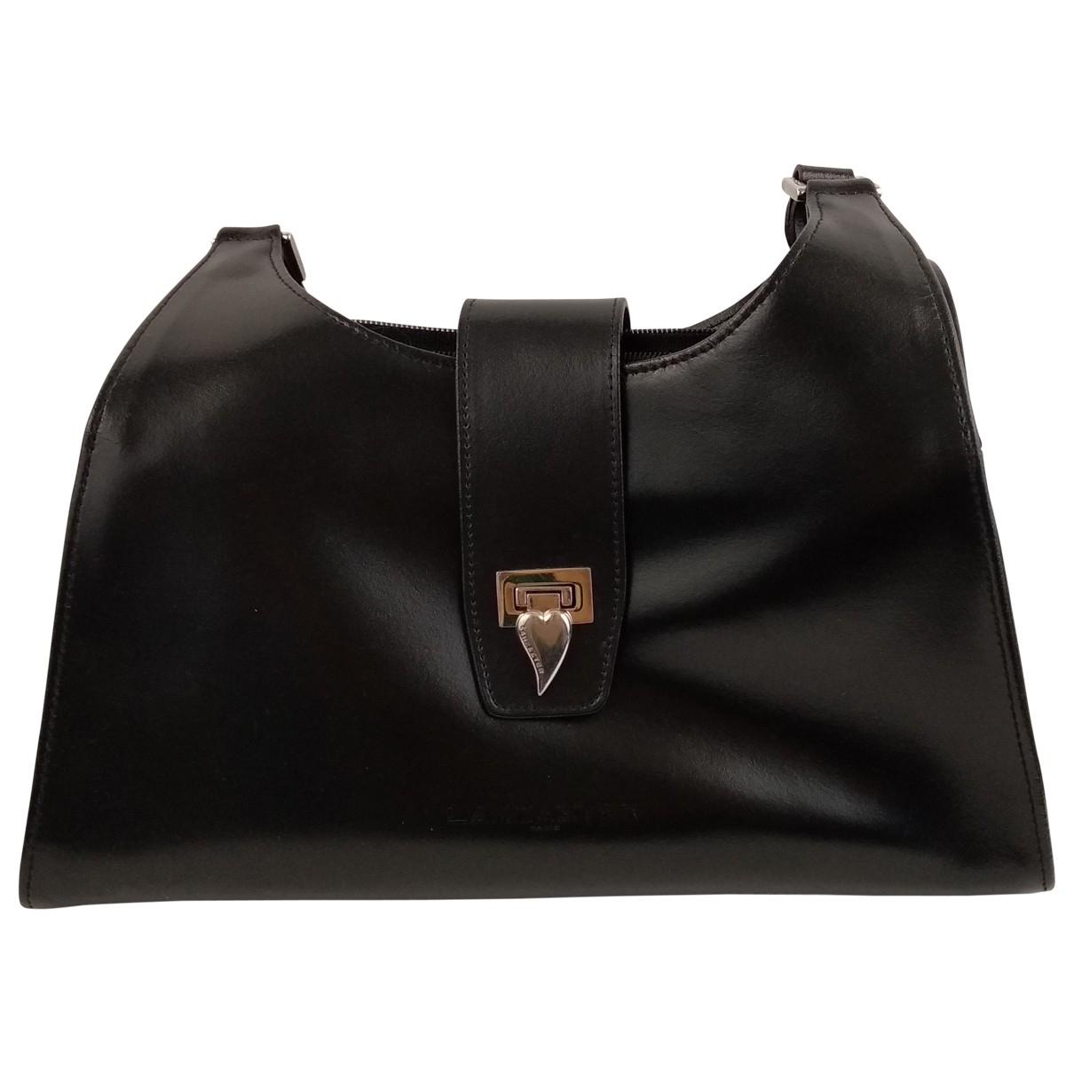 Lancaster \N Black Leather handbag for Women \N